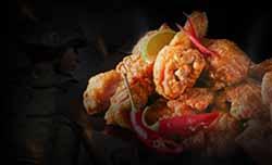 리얼 치킨 원정대! 치킨 디너!!